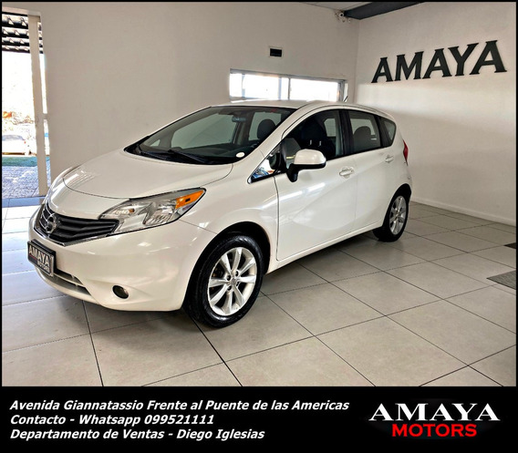 Nisan Note Advance M/t Año 2014 Impecable Estado !amaya Moto