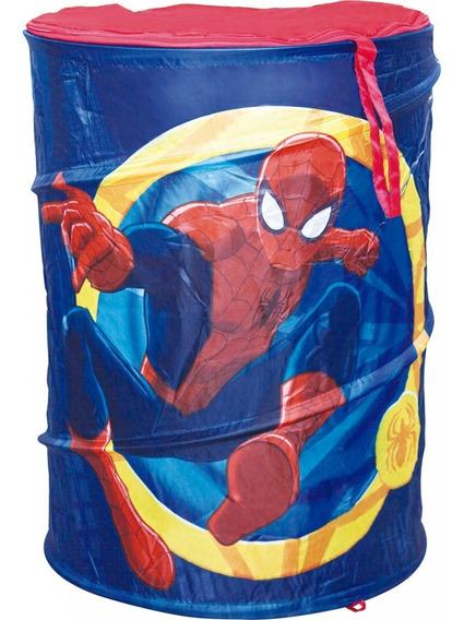 Porta Brinquedos Objetos Infantil Homem Aranha