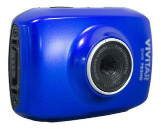 Cámara 5.1 Mpx Azul Video Hd 720p Dvr783hd Vivitar