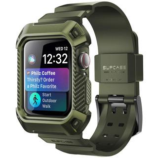 Carcasa Funda Apple Watch4 Supcase Ubpro 44mm Verde Oscuro