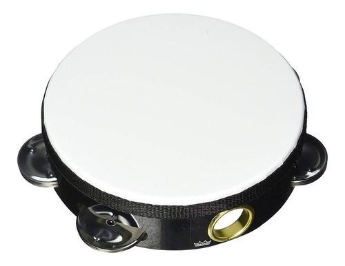 Imagen 1 de 9 de Pandereta Remo 8 Pulgadas Sonajas Simples Melinex White