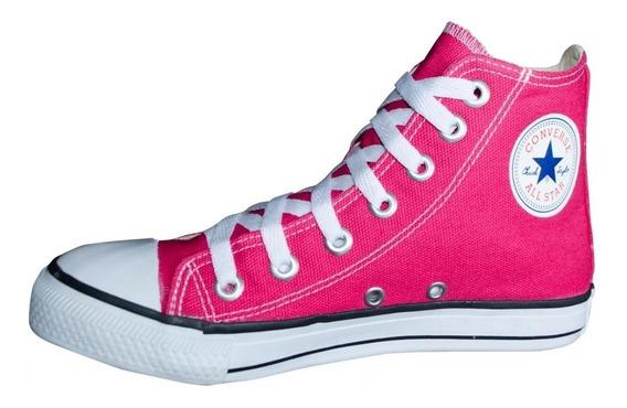 Tênis Converse All Star Ct Cano Alto Rosa Chiclete.