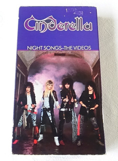 Cinderella Night Songs The Videos Vhs 1987 Polygram