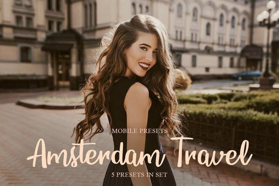 Amsterdam Travel Mobile Presets - Lightroom Viagem