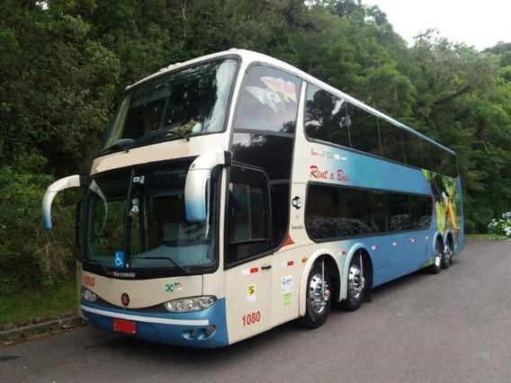 Ônibus Marcopolo Dd G6 Scania K 420 8x2 Super Luxo Seminovo