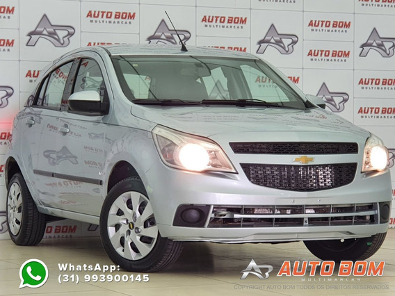 Chevrolet Agile Ltz 1.4 Mpfi 8v Flexpower 5p - Prata - 2...