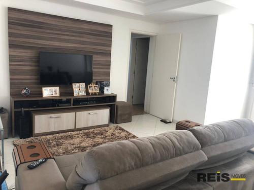 Apartamento Com 3 Dormitórios À Venda, 96 M² Por R$ 470.000,00 - Mangal - Sorocaba/sp - Ap1218