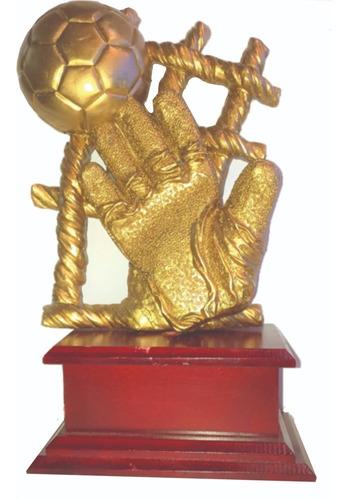 Trofeo Arquero Resina 3d Valla Menos Vencida