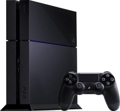 Playstation 4 Fat 500gb Ps4 Original Novo + 1 Controle + Nf