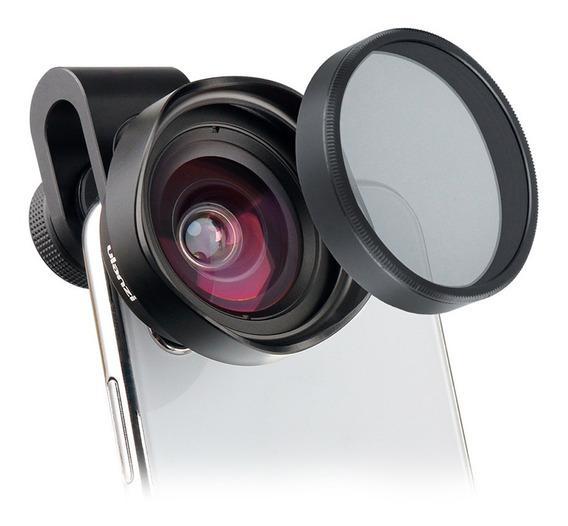 Lente De Telefone Grande Angular Ulanzi 16mm Hd Com Lente De