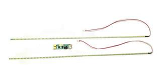 Kit Conversión Backlight Lámpara Ccfl A Led 15 A 24 Pulgadas