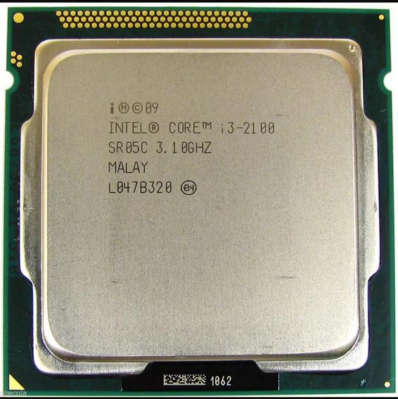 Processador I3 2100 3,1 Ghz Lga1155 + Cooler
