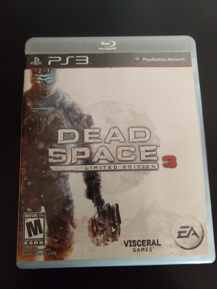Dead Space 3 Limited Edition Ps3 Mídia Física Original Perfe