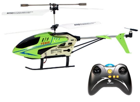 Helicóptero Fênix Controle Remoto 3 Canais Art Brink