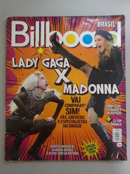 Revista Billboard 35 Lady Gaga X Madonna Nando Reis 073