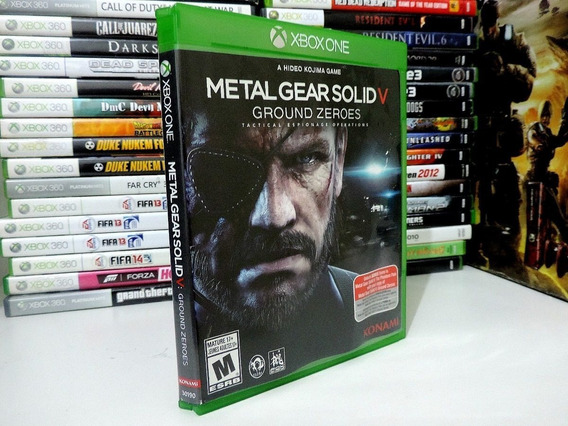 Metal Gear Solid V Ground Zeroes Xbox One - Semi Novo