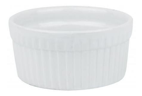 Pack 3x: Bowl Ceramica Blanca Labrado Lineas Verticales 9x4