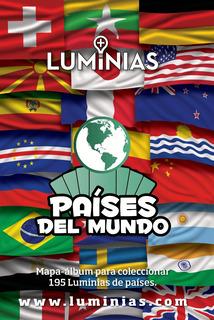 Luminias Países Del Mundo Caja Con 42 Sobres + Mapa Álbum