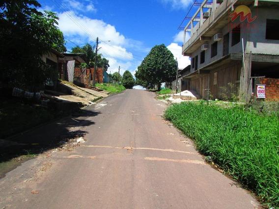 Terreno Residencial Murado Em Rua Asfaltada À Venda, Zerão, Macapá - Te0124