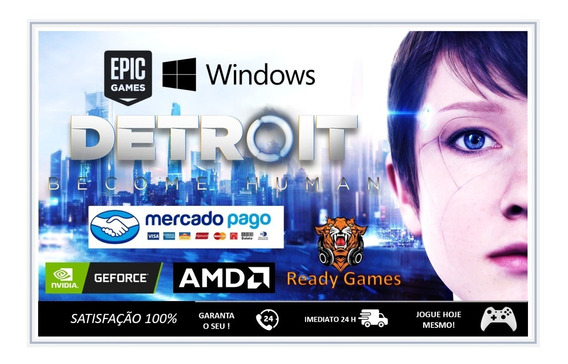 Detroit Become Human - Pc - Epic Games