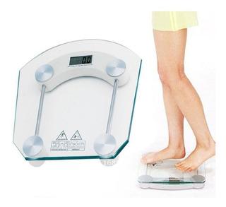 Balança Digital Doméstica 180kg Peso Banheiro Saúde Fitness