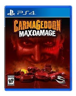 Carmageddon Max Damage Playstation 4