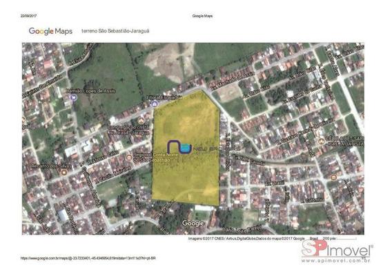 Terreno À Venda, 70715 M² Por R$ 15.000.000 - Jaraguá - São Sebastião/sp - Te0106