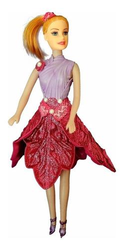 Imagem 1 de 1 de Kya - Rosa Com Glitter - Bonecas Artesan