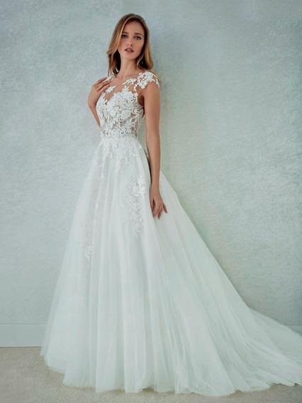 Vestido Novia Felicidad White One By Pronovias