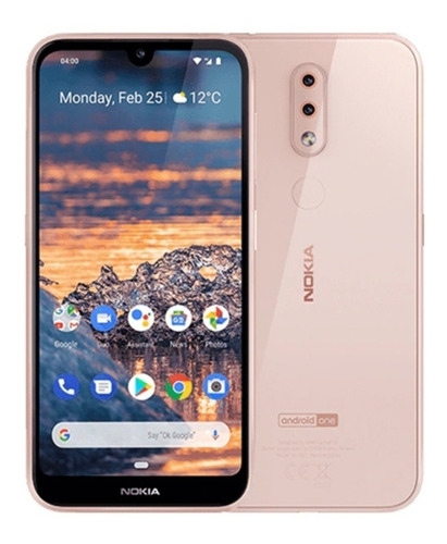 Nokia - 4.2 With 32gb Memory Cell Phone (unlocked) - Pink Sa