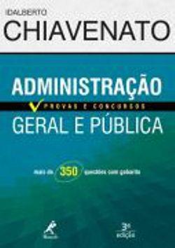 Administração Geral E Publica - Provas E Concursos
