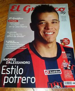 Revista El Gráfico Nº 4374 Mayo 2008 Dalessandro San Lorenzo