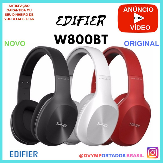 Edifier W800bt 75h Cores Fone De Ouvido Bluetooth Headphone