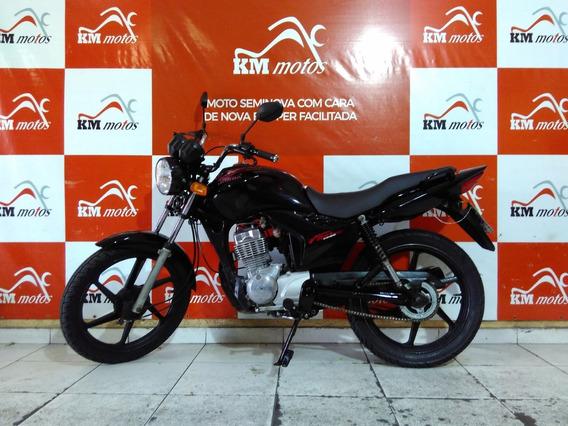 Honda Cg 125 Fan Ks 2012 Preta