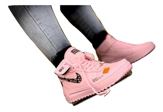 Botas Nike Air Force One Just One Para Mujeres