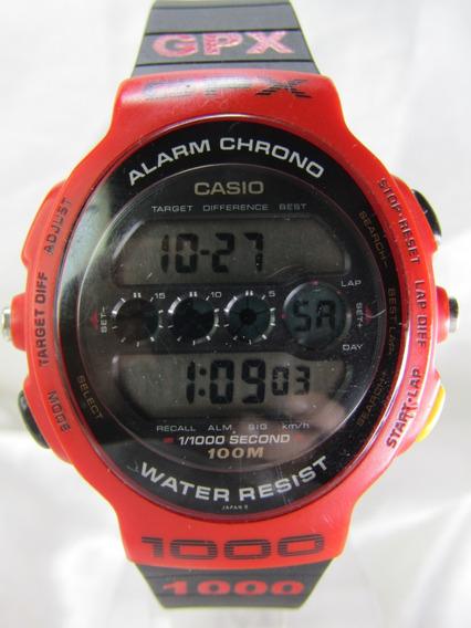 Casio Gpx 1000 Flamengo Módulo 902 Garantia Relogiodovovô.