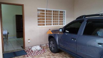 Casa Com 2 Dormitórios À Venda, 98 M² Por R$ 220.000 - Maria Imaculada Ii - Brodowski/sp - Ca2061