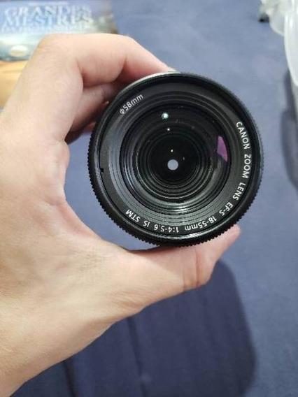Lente Canon Efs 18-55mm F/3.5-5.6