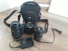 Câmera Canon T5i Rebel + Lentes