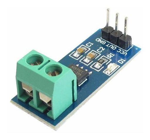 Sensor De Corrente Acs712 20a Para Arduino, Rasp, Esp C/ Nf
