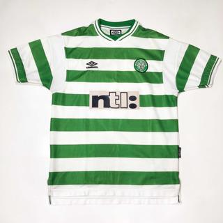 Camisa Celtic Home - Umbro - 1999/01 - G