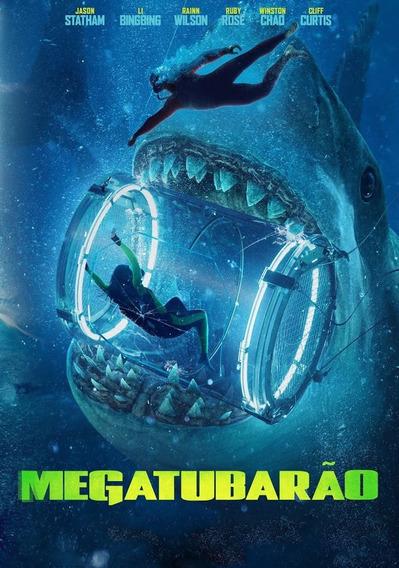 Dvd Megatubarão - Lançamento 2018