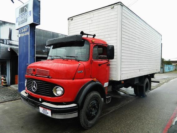 Mercedes-benz Mb 1113 1971 Toco Bau, Dir. Hidrauli, Freio Ar