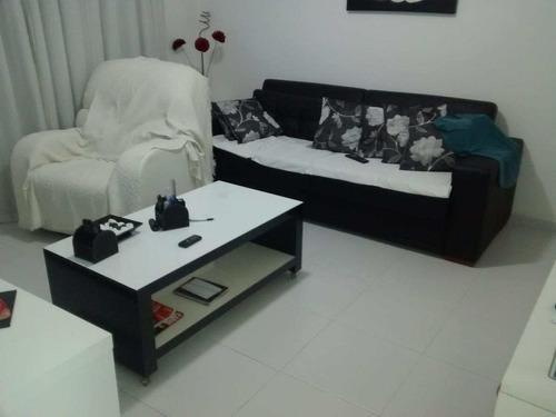 Apartamento Com 3 Dorms, Parque Bitaru, São Vicente - R$ 260 Mil, Cod: 436 - V436