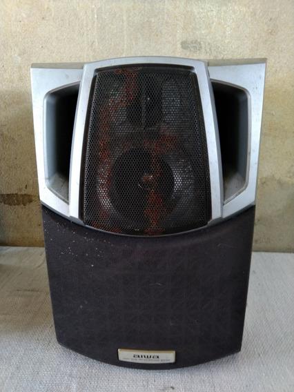 1 Caixa Acústica De Som Aiwa Impedância 6 Sxnsz22yl C 3551