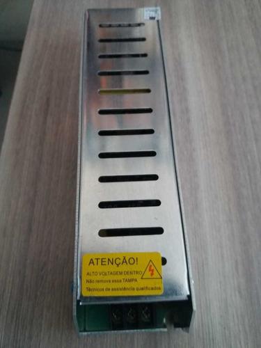 Fonte Metálica Ajustável 24v/5a Para Cftv