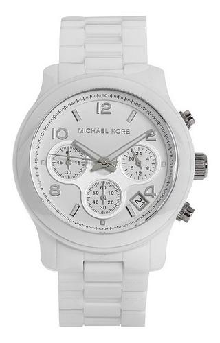 Relógio Luxo Michael Kors Mk5161 Orig Cerâmico Chron Anal!!!