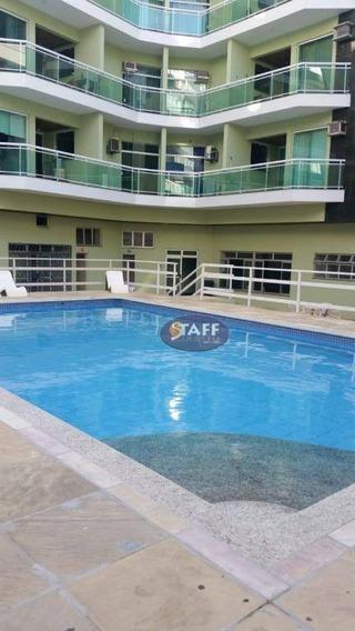 Apartamento Com 02 Dormitórios Para Aluguel Fixo, 68,00 M² Por R$ 1.700/mês - Bairro Algodoal - Cabo Frio/rj - Ap0586