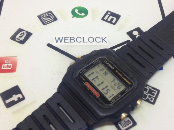 Relógio De Pulso Casio W-720 Masculino T07360 Webclock