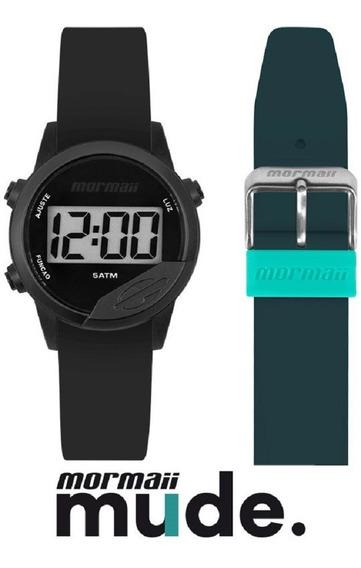 Relógio Mormaii Mude Unissex Digital Mo4100aa/8p Preto